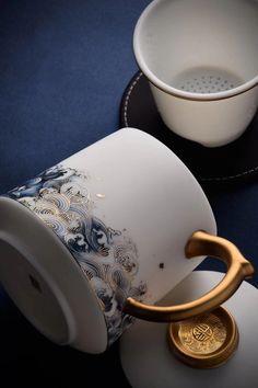 Kintsugi, Coffee Cups, Tea Cups, Coffee Thermos, Espresso Cups, Keramik Design, Tea Brands, Cute Mugs, Funny Mugs