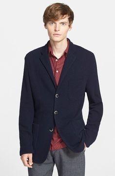 $320, Barena Venezia Brado Sweater Jacket. Sold by Nordstrom. Click for more info: https://lookastic.com/men/shop_items/342151/redirect