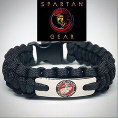 USMC EGA Concho Overlay King Cobra braid Marine   Etsy Usmc Emblem, Spartan Helmet, King Cobra, Paracord Bracelets, Yellow Black, Watch Bands, Overlays, Two By Two, Braids