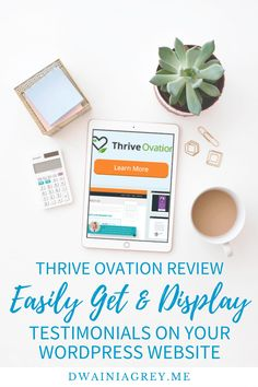 Display social proof - make it easy for your customers to leave reviews and testimonials with the Thrive Ovation WordPress plugin. #thrivethemes #thrivesuite #thriveovation #getreviews #getmoretestimonials #thriveovation Email Marketing, Affiliate Marketing, Money Making Websites, Social Proof, Help Teaching, Social Media Site, Blogger Tips, Wordpress Plugins, Business Website