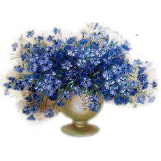 png клипарт,png сад,png цветник,png цветы,png весна,png скрапы,png... ❤ liked on Polyvore featuring flowers, blue, flores, plants and filler
