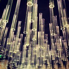 glass tube lights via @Jonathan Nafarrete Lo / happymundane Instagram