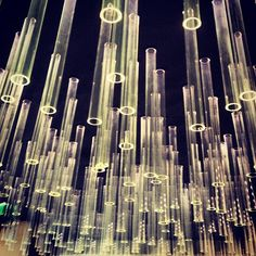 glass tube lights via @happymundane Instagram