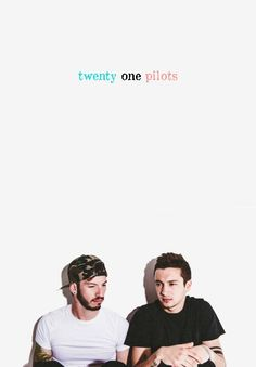 I love how it looks like Tyler is telling josh all of his problems and josh is interested and listens idek is that just me? I think it is