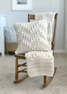 Crochet Pillow Cases, Crochet Pillow Patterns Free, Crochet Cushion Cover, Crochet Cushions, Afghan Patterns, Square Patterns, Knit Pillow, Cushion Covers, Free Pattern