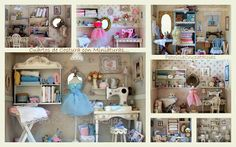 Patricia Cruzat Crafts and Color: Sewing Room, an original gift for someone…
