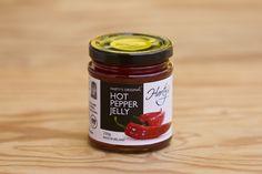 Hot Pepper Jelly von Harty's Pepper Jelly Company: 100% natürliche Zutaten, vegetarisch, glutenfrei, keine Zugabe von Salz, keine künstlichen Aroma- und Farbstoffe
