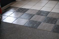 Painting ceramic tile is an easy and inexpensive way to cover up ...