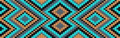 схема pattern beads станочное ткачество браслет