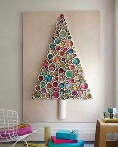 Árvore de Natal estilizada