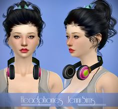 Jennisims : Sets of Accessory (Handbag,Headphones,Backpack)