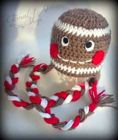 ALL SIZES Gingerbread Beanie by EternalLightShop on Etsy, $22.00