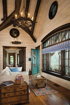 Beautiful Rustic Interior Design – 35 Pictures Of Bedrooms