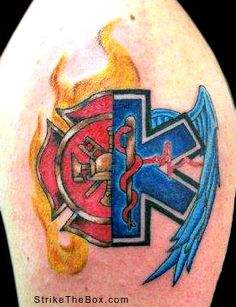 tattoos for emt   Studio: High Energy Tattoo, Ocean Isle Beach