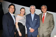 Echo Brickell Launches With Spectacular Event On Board The Seafair. | MetroCitizen Magazine. Guillermo Martinez, Juanita Gomez, Humberto Gomez, Fernando Vives.