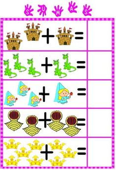 EL BLOG DE LA PROFE MARTA: NUEVOS MATERIALES PARA EL RINCÓN MATEMÁTICO Dyslexia Activities, Kids Math Worksheets, Preschool Learning Activities, Math Resources, Preschool Activities, Math For Kids, Fun Math, English Grammar For Kids, Lego Math