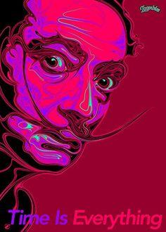 New #Art #Poster: ($49) Salvador Dali 1 http://ift.tt/1Q2WX3o (via @zedign)