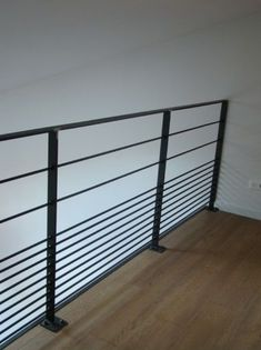 Ideas For Wrought Iron Stairs Handrail Metal Handrails For Stairs, Deck Stair Railing, Stair Railing Design, Wrought Iron Stairs, Steel Railing, Steel Stairs, Stair Handrail, Stair Decor, Staircase Railings