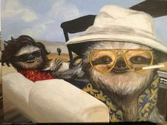Fear and loathing in slothvegas