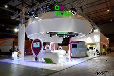 百万瓦特-会展创意充电站 - Powered by Discuz! Exhibition Stall Design, Exhibition Display, Exhibition Stands, Exhibit Design, Exibition Design, Stand Design, Trade Show, Retail Design, Pop Up Stores