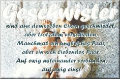 """Geschwister! ❤  #geschwisterliebe #quote #zitat #spruchbild #instaquote #geschwister #hobeaquote #instaspruch #geschwisterspruch #siblings #sibs #kinder…"""
