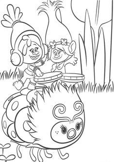 8 best ausmalbilder trolls images | poppy coloring page, cartoon coloring pages, coloring pages