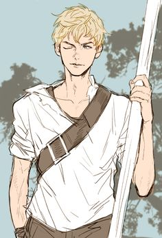 This Is My Fav Newt Fan Art! He actually looks a lot like Thomas Brodie Sangster the actor who plays Newt!