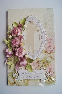 Creating A Children's Birthday Scrapbook – Scrapbooking Fun! Scrapbook Cards, Scrapbooking, Heartfelt Creations Cards, Wedding Cards Handmade, Shabby Chic Cards, Wedding Anniversary Cards, Marianne Design, Card Making Inspiration, Paper Cards