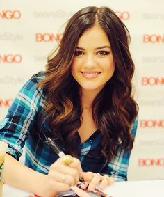 Lucy Hale- love her hair