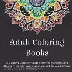 Introducing Sit Down Relax And Color Volume 2 Mandalas Adult Coloring Book Buy Your Books Here Follow Us For More Updates