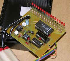 LED Bargraph Optical Tachometer