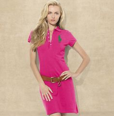 Big Pony Polo Dress RALPH LAUREN. Although young men use to be their signiture,