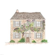29. Wisteria House | Rebecca Horne, illustration