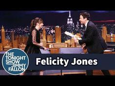 The Tonight Show Starring Jimmy Fallon: Felicity Jones Demos Her Badass Star Wars Fight Moves on Jimmy