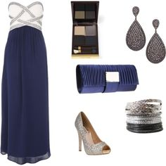 An Evening Out, created by rebeccerzz on Polyvore