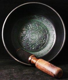 Tibetan Singing Bowl   Bronze  Meditation  by EnchantedMaine, $99.00