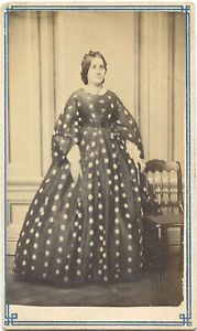 Civil War Era CDV Photo A Woman Allentown PA Studio | eBay