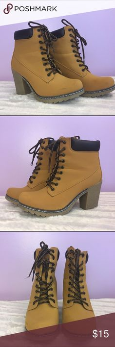 Timber High Heeled Boots Little worn but in good condition Shoes Heeled Boots