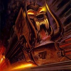 This Motorhead features an image that makes an impact. Truly who I call one of the real Metal Pioneers. Heavy and Nasty