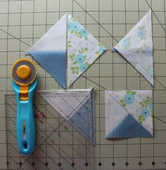 Pinwheel Star Block Tutorial - The Crafty Quilter
