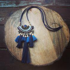 Tassel Necklace Bohemian Jewelry Festival Necklace Pendant Necklace by GypsyTribeJewels on Etsy https://www.etsy.com/au/listing/456437640/tassel-necklace-bohemian-jewelry