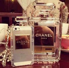 Funda Perfume Chanel Paris Iphone 6