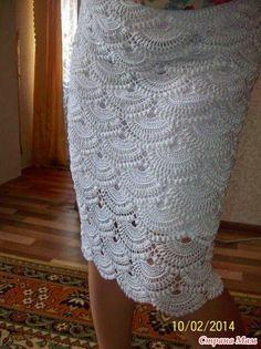 Bom dia pessoal, eu gosto muito deste modelo de saia, super chic, meu comprimento favorito, elegante , este ponto leque é muito bonito. No ...
