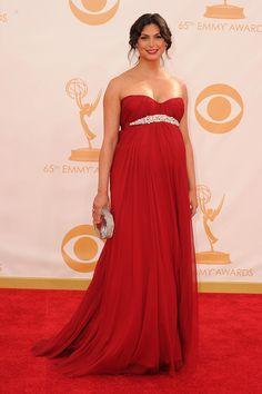 BEST | Morena Baccarin's Alexander McQueen is not your average maternity wear. via @stylelist