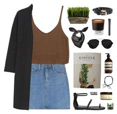 """yoins19"" by jesicacecillia ❤ liked on Polyvore featuring Calvin Klein Collection, Aesop, Alexander McQueen, Pantone, Ahava, 3.1 Phillip Lim, NARS Cosmetics, yoins, yoinscollection and loveyoins"