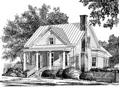 Colonial House Plan with 2051 Square Feet and 3 Bedrooms(s) from Dream Home Source | House Plan Code DHSW55902