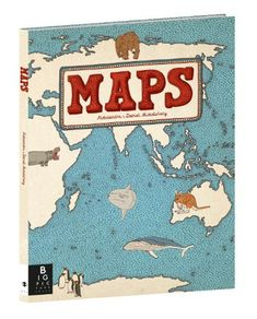Maps by Aleksandra Mizielinska and Daniel Mizielinski. The ultimate map book! A must-have for all children's book collections. Best Non Fiction Books, Fiction Books For Kids, Teaching Geography, One Year Anniversary Gifts, Anniversary Ideas, Land Of Nod, Nonfiction Books, Les Oeuvres, Childrens Books