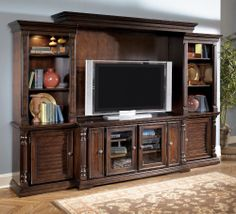 Key Town Complete Entertainment Center | Home Gallery Stores