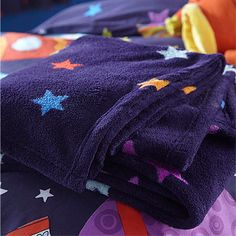 Catherine Lansfield Kids Outer Space Throw