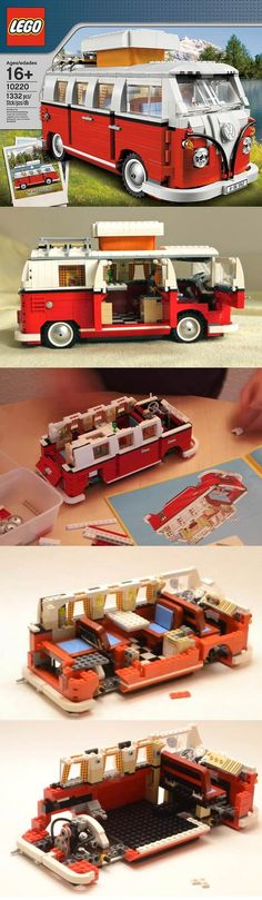 LEGO Volkswagen T1 Camper Van I have it. And assembled it twice. Time for the third time ;-)